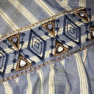 BCBGMaxAzria Skirts - NWT BCBGMaxAzria Tribal Print Button Skirt